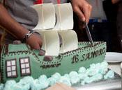 Торт на день рождение 7Sky
