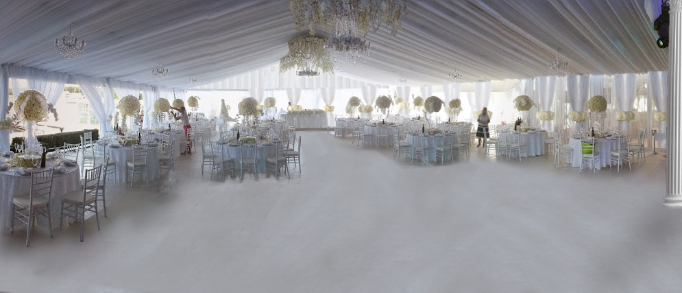 wedding tent drapes 7sky